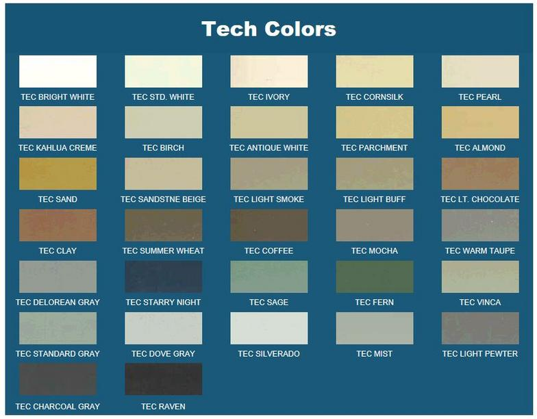 Pin Tec Grout Colors On Pinterest